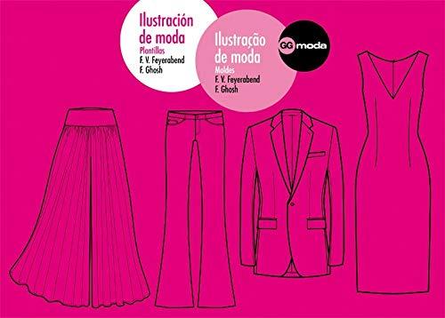 9788425223334: Ilustración de moda. Ilustraçao de moda: Plantillas. Moldes (Spanish Edition)