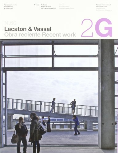 9788425223457: 2G N.60 Lacaton & Vassal (2G International Architecture Magazine) (2G Books) (English and Spanish Edition)