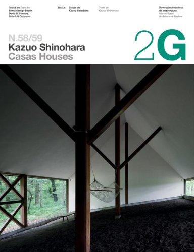 2G 58/59 Kazuo Shinohara (2G Intenational Architecture: Okuyama; Steward; Massip