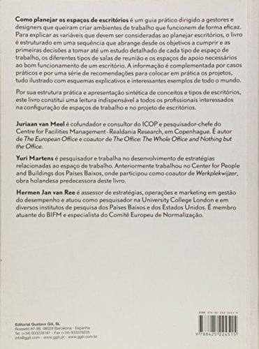 9788425224515: COMO PLANEJAR OS ESPAÇOS DE ESCRITÓRIOS