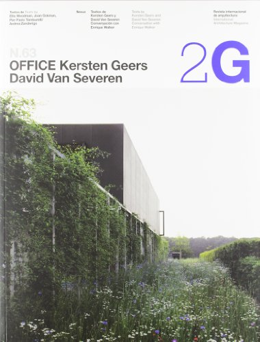 9788425224546: 2G N.63 Office Kersten Geers David Van Severen