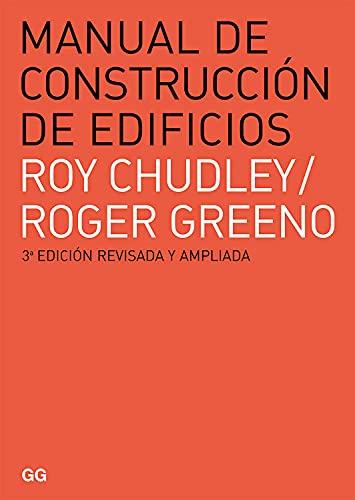 9788425225918: Manual de construcción de edificios