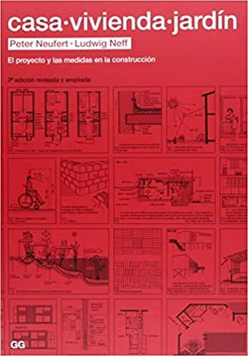 9788425226465: Casa, vivienda, jardín: El proyecto y las medidas en la construcción