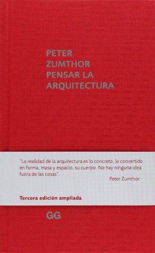 9788425227301: Pensar la arquitectura