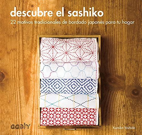 Descubre el sashiko: 22 motivos tradicionales de: Kumiko Yoshida