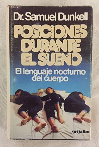 9788425309847: POSICIONES DURANTE EL SUEÑO