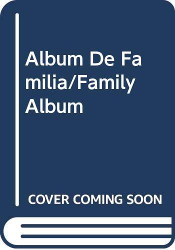 9788425317644: Album De Familia/Family Album