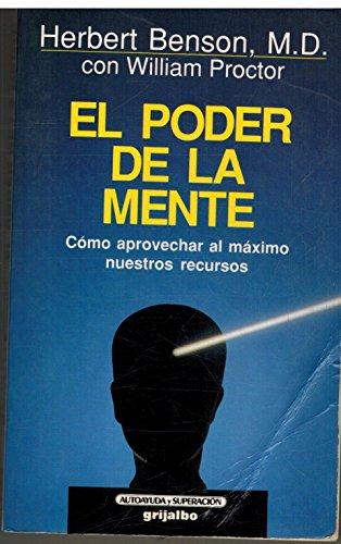 9788425321023: El Poder de La Mente (Spanish Edition)