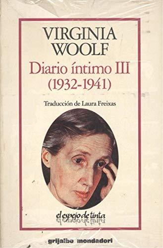 9788425326493: Diario intimo III 1932-1941