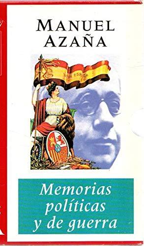 9788425329319: MEMORIAS POLITICAS Y DE GUERRA - (2 VOLS