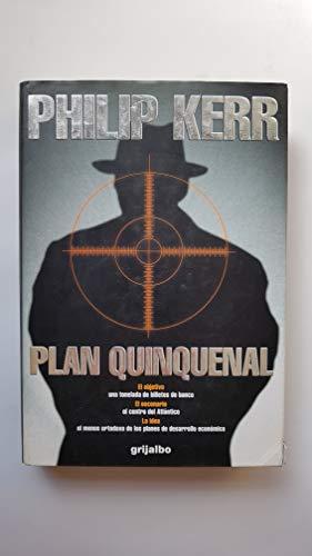 9788425333415: Plan quinquenal