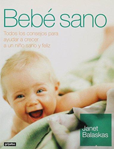 9788425337185: Bebe sano / Healthy Baby (Embarazo,B) (Spanish Edition)