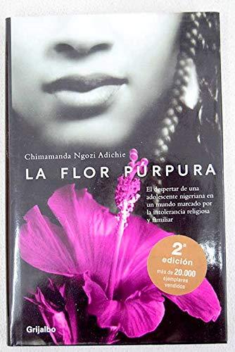9788425338977 La Flor Purpura Purple Hibiscus Ficcion Spanish