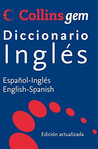 9788425347962: DICCIONARIO INGLES - ESPAÑOL COLLINS GEM