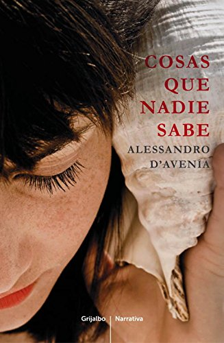 9788425349102: Cosas que nadie sabe / Things Nobody Knows (Spanish Edition)