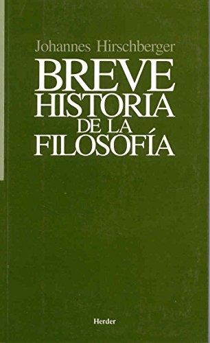 9788425401206: Breve historia de la filosofía