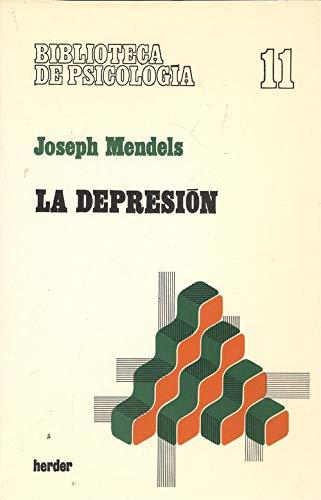 9788425405945: Depresion, la
