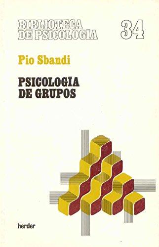 Psicología de grupos: Pio Sbandi