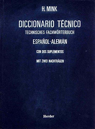 Diccionario Técnico Español - Aleman: Mink, H.