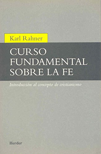9788425407581: Curso fundamental sobre la fe (Spanish Edition)