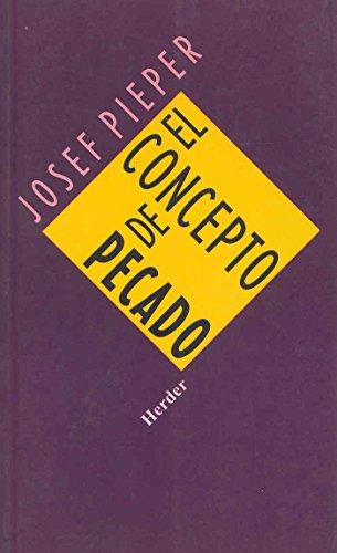 9788425407727: El concepto de pecado (Spanish Edition)
