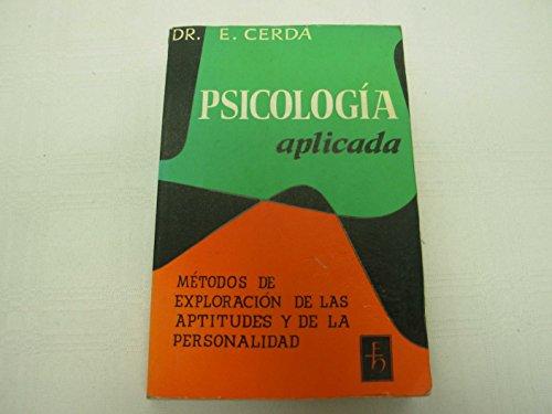Psicología aplicada: Cerdá, Enrique