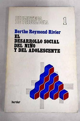 9788425408489: Desarrollo social del Niño y del adolescente, el