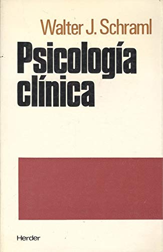 Psicología clínica: Schraml, Walter J.