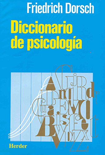 9788425410260: Diccionario de psicologia (Spanish Edition)