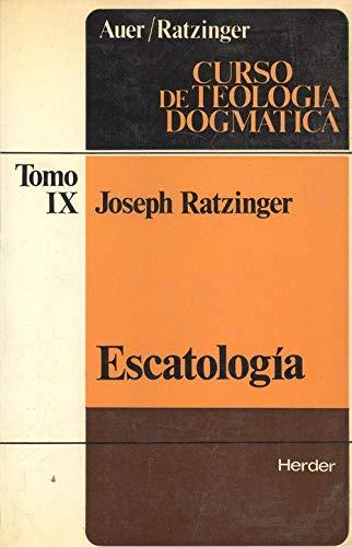 9788425410864: Escatologia (curso de teologia dogmatica; t.9)