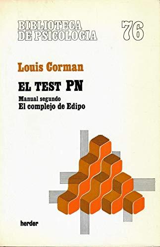 TEST PN, EL. (MANUAL SEGUNDO): LOUIS, CORMAN