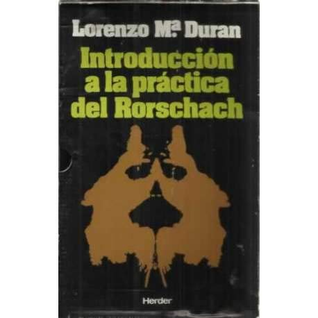 9788425412219: INTRODUCCIÓN A LA PRÁCTICA DEL RORSCHACH.