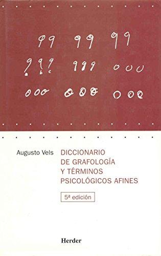 9788425413636: Dicc. de grafologia y terminos psicologicos afines