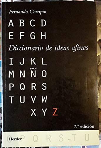 9788425415159: Diccionario de Ideas Afines (Spanish Edition)