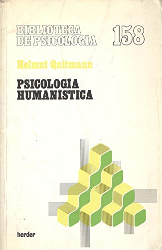 9788425416460: Psicologia Humanistica