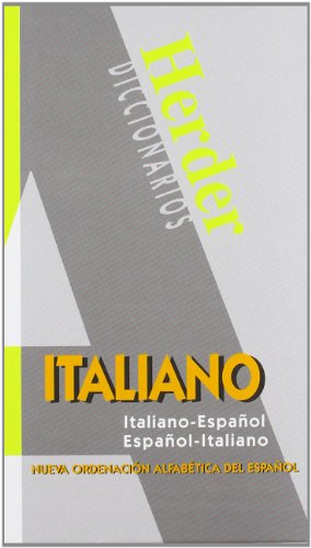 9788425418211: Diccionario Moderno Italiano: Italiano-Español/Español-Italiano (Diccionarios Herder)