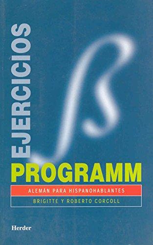 9788425418594: Programm. Ejercicios/soluciones: Alemán para hispanohablantes