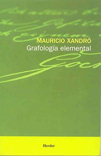 9788425418815: Grafologia elemental (Spanish Edition)
