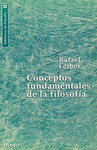 9788425419300: Conceptos fundamentales de la filosofía