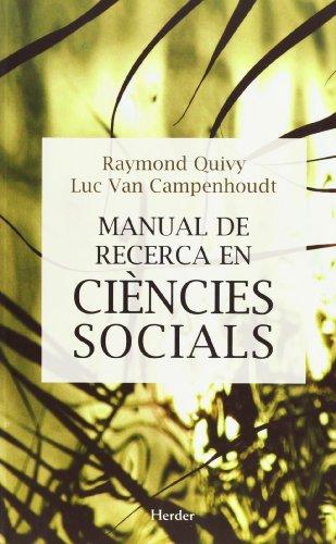 9788425419416: Manual de recerca en Ciencies Socials
