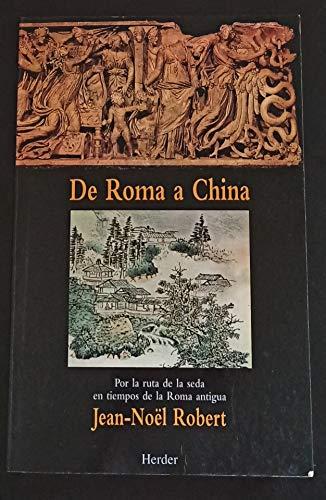 9788425419423: De Roma a China