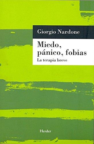 9788425420078: Miedo, panico, fobias (Spanish Edition)