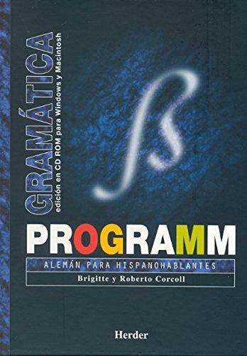 9788425420429: Programm: gramatica (CD-rom) Alemán para hispanohablantes