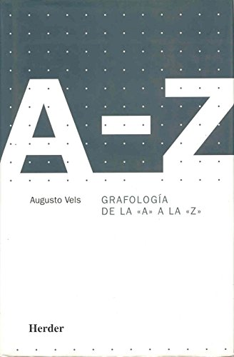 Grafología de la > a la >: Augusto Vels
