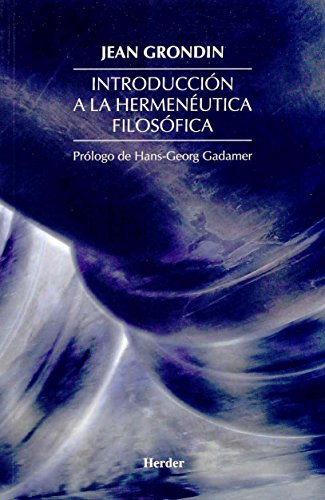 9788425421006: Introduccion a la hermeneutica filosofica (Spanish Edition)