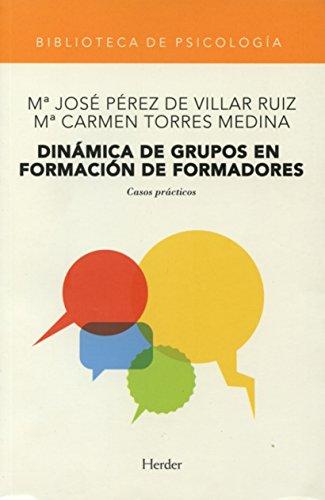 9788425421020: Dinamica de grupos en formacion de formadores (Spanish Edition)