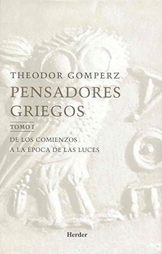 9788425421297: Pensadores Griegos - 3 Tomos (Spanish Edition)