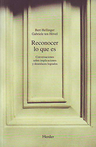 9788425421389: Reconocer lo que es (Spanish Edition)