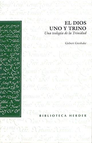 9788425421440: El Dios uno y trino: Una teología de la Trinidad (Biblioteca Herder)