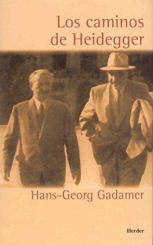 9788425421549: Los caminos de Heidegger (T) (2002)